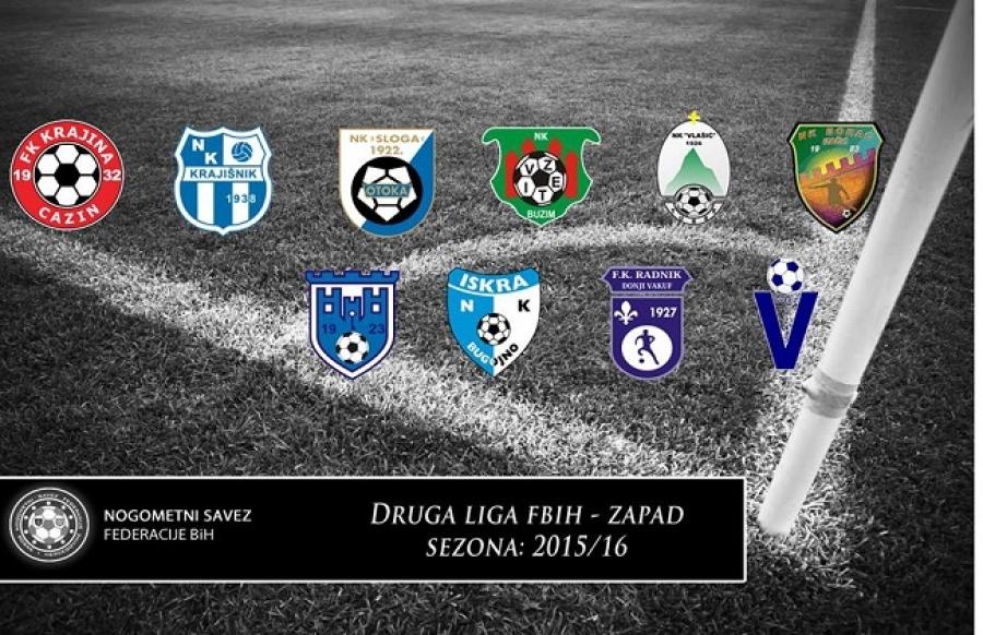 Druga liga FBiH - Zapad - Rezultati 5. kola (03/04.10.2015.)