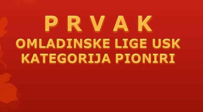 Prvaci NS USK-a u pionirskoj konkurenciji 2015/16 - NK Podgrmeč Sanski Most